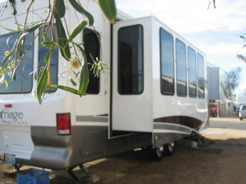 2006 Carriage Carri Lite 36ksq W 4 Slides And Arizona Room