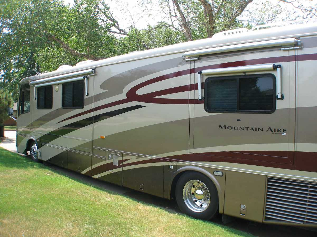 2001 newmar mountain aire bartlesville oklahoma for Mountain aire