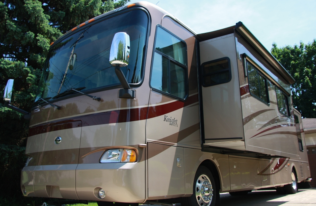 rvs for sale by owner monaco knight class a diesel. Black Bedroom Furniture Sets. Home Design Ideas