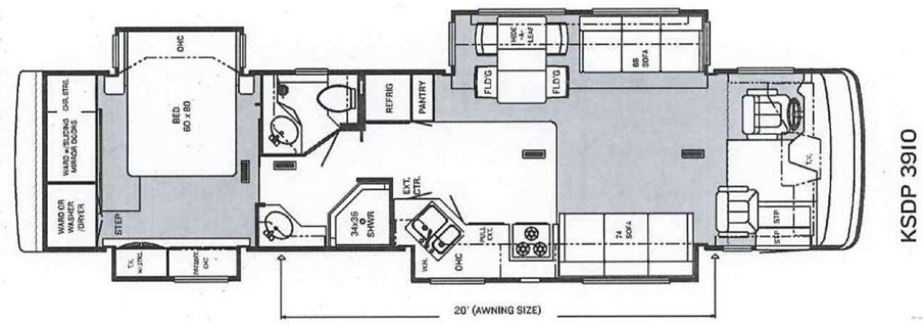 2005 Newmar Kountry Star Photos Details Brochure Floorplan