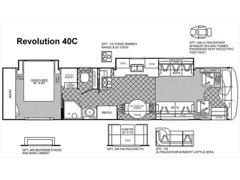 Fleetwood Revolution 40c Photos Details Brochure With