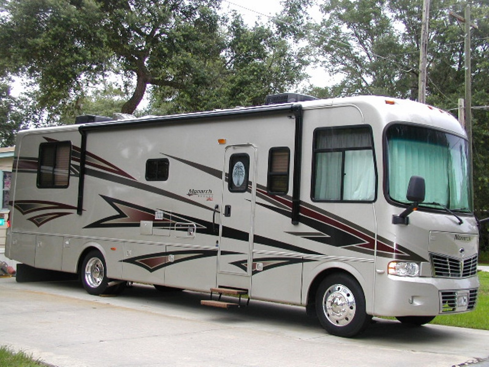 2008 Monaco Monarch 33sfs Used Motorhomes And Rvs For Sale