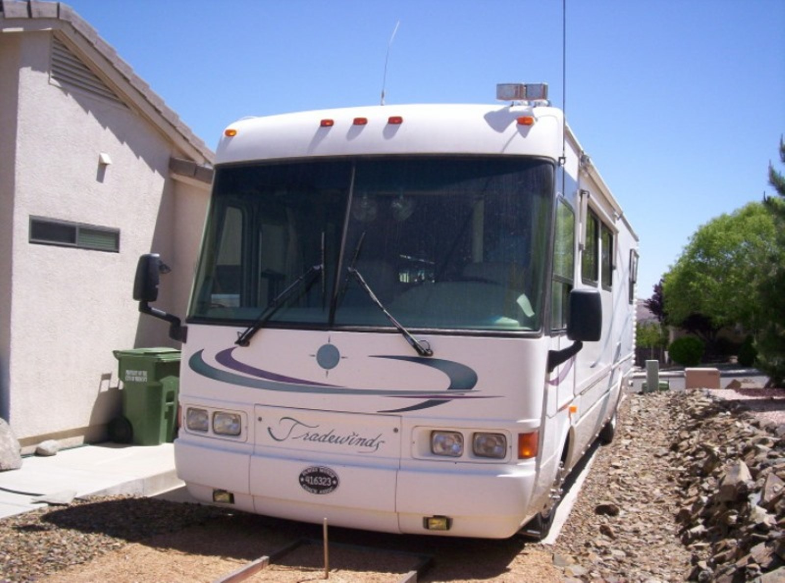 Simple 2000 Tiffin Allegro Bus 39 FT Motorhome For Sale In Stanton CA