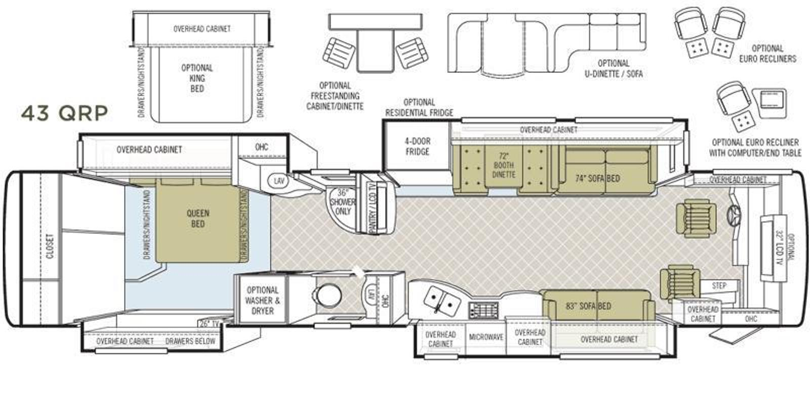Fleetwood Tioga in addition SuperSizePhotos furthermore Details besides Skinned also American Coach. on tiffin allegro motorhomes floor plans