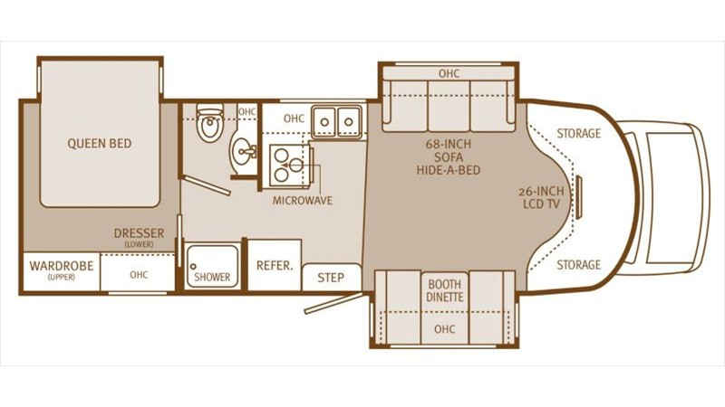 Augusta Rv Floor Plans: 2012 Holiday Rambler Augusta 29PBT, PHOTOS, Details