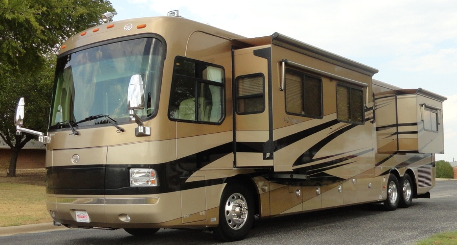 monaco dynasty 42 diamond iv diesel pushers for sale by owner. Black Bedroom Furniture Sets. Home Design Ideas